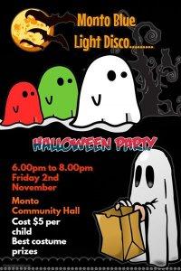 Monto Blue Light Disco - Halloween Party @ Monto Community Hall New | Monto | Queensland | Australia