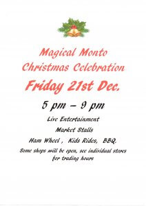 Magical Monto Christmas Celebration @ Monto | Queensland | Australia