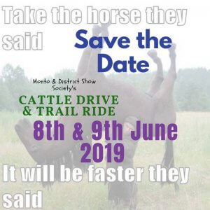Monto & District Show Society - Cattle Drive